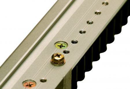 Serrated Rail Surface