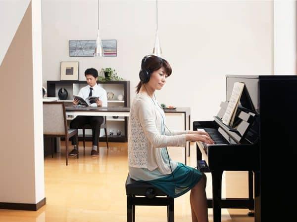 Kawai AnyTime Upright Piano Location