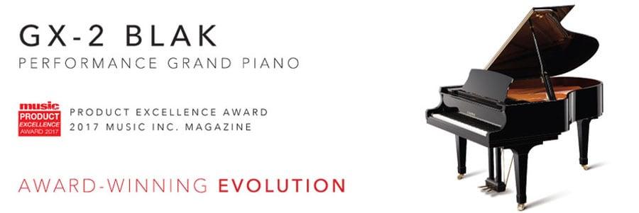Kawai GX-2 Grand Piano Product Excellence Award