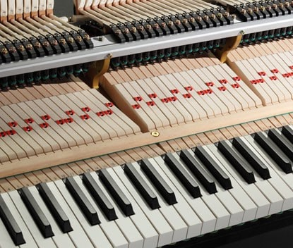 Kawai Grand Piano Extended Key Lengths