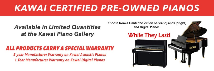 Certified Pre-Owned Pianos