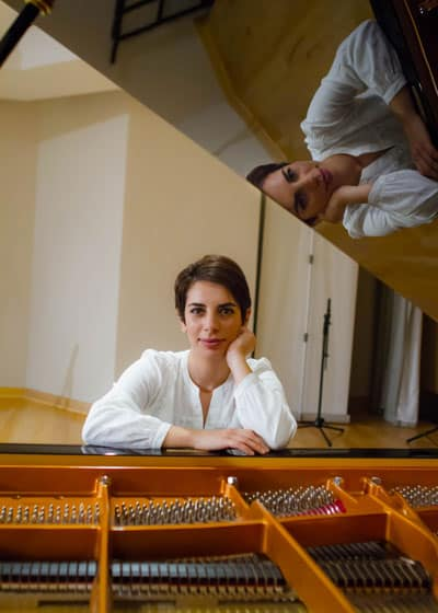 Azin Hakimii Piano Teacher